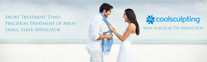 CoolSculpting Non Surgical Fat Reduction Banner